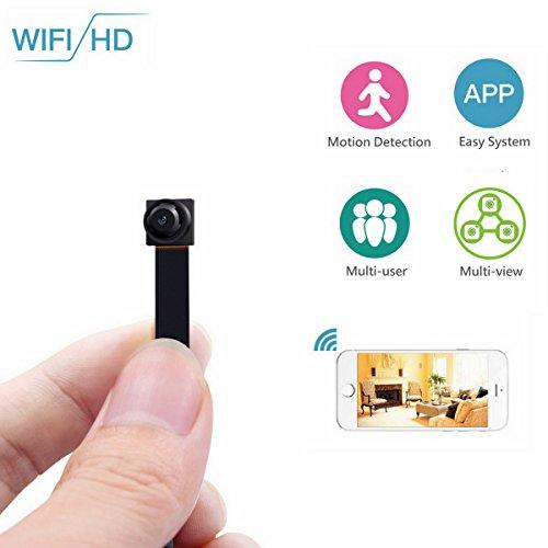 WJLING Hidden Camera, 720P / 30 FPS Mini USB Spy Camera, DVR
