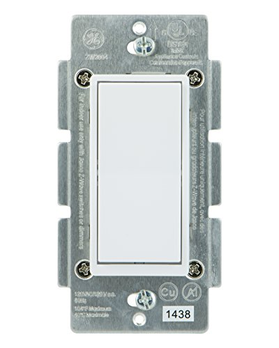 Ge Zigbee Inwall Smart Dimmer Switch Led And Cfl Patible With. Ge Addon Switch For Zwave Zigbee And Bluetooth Wireless Smart Lighting Controls Not A Standalone Includes White Light Almond Paddles. Smart. Add On Switch Wiring Ge Smart At Scoala.co