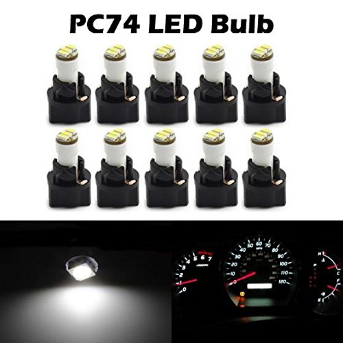 cciyu 20 Pack Blue T4//T4.2 Neo Wedge 3LED Climate Control Light Bulbs Replacement fit for 1996-1999 Dodge Caravan 1998-2001 Acura Integra 2004-2011 Chevrolet Colorado