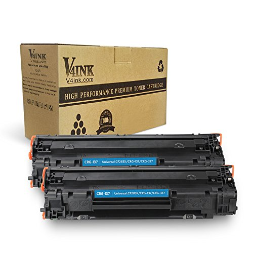 Cool Toner 4 Pack 2,400 Pages Compatible Canon 137 Canon