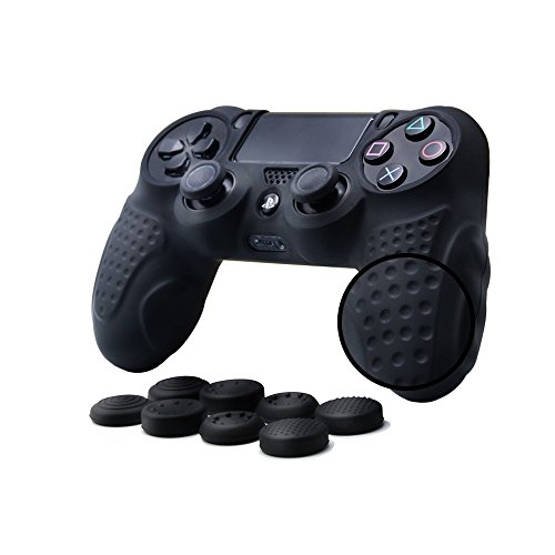 Insten 2 Pair / 4 Pcs Wireless Controllers Silicone Analog Thumb