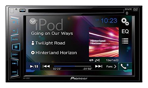 pioneer avh x390bs double din bluetooth in dash dvd  cd  am