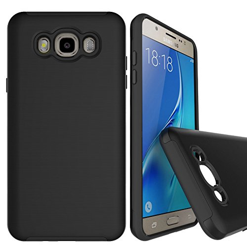 Compatible with for Galaxy J7 LTE 2016. Dual layer pc/tpu protection. This case will protect your phone against shock damage, dust, scratches, dirt.