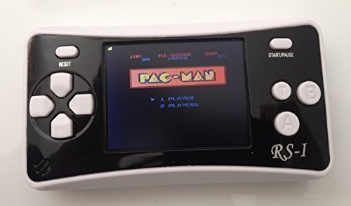 White – Handheld Game Console , 650 Classic Games 4 1″ 64