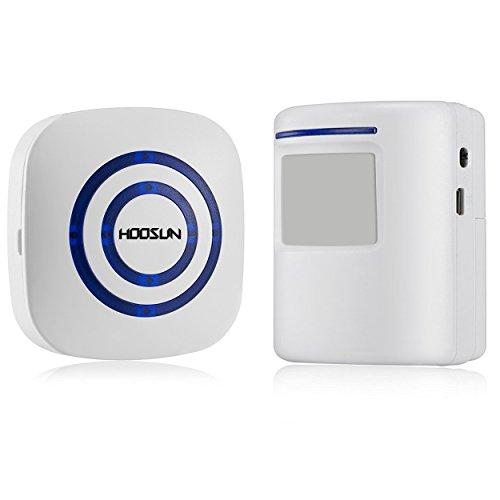 Garage Door Open Position Indicator Light 4 Steps With: Wireless Driveway Alert Doorbell,Home Security Alarm