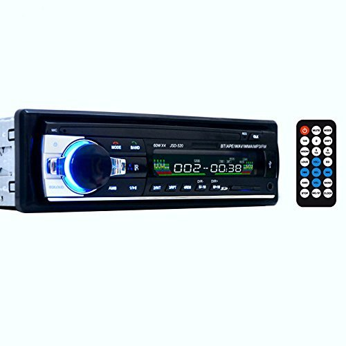 Masione Bluetooth Car Audio Stereo 1 DIN In Dash 12V Fm ... on