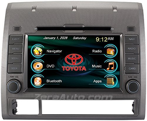 2005-2012 Toyota Tacoma In-Dash GPS Navigation Stereo DVD CD Player