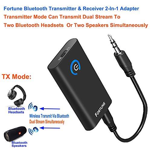 8-In-1 FM Transmitter for car Bluetooth Receiver Car MP3