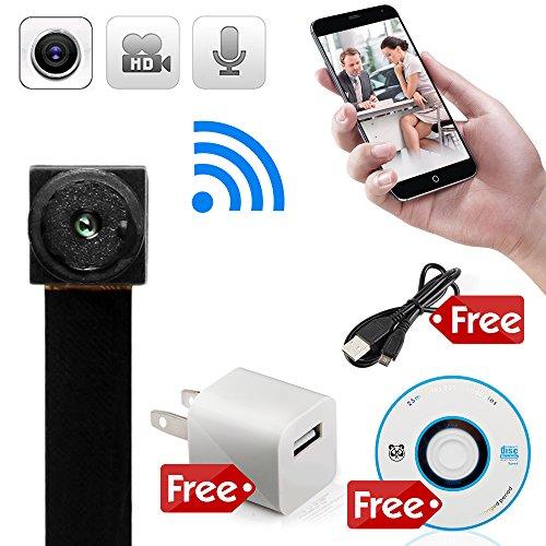 Wireless Wifi Hidden Camera Security and Surveillance Spy