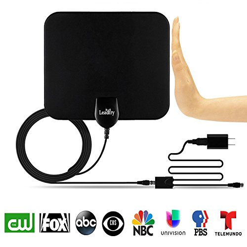 LeadTry ANT-Pro Indoor HD TV Antenna 1080P, 50-Mile