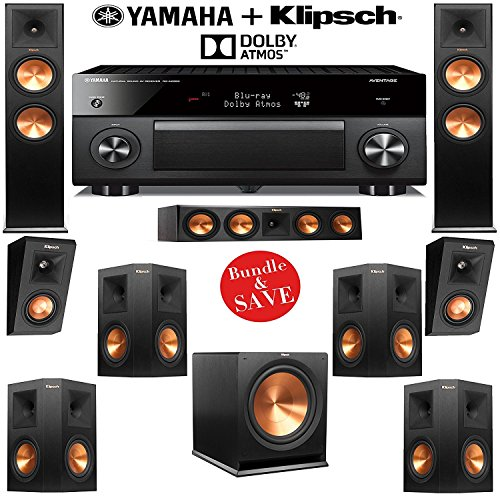 Klipsch RP-250F 7 1 2 Reference Premiere Dolby Atmos Home Theater