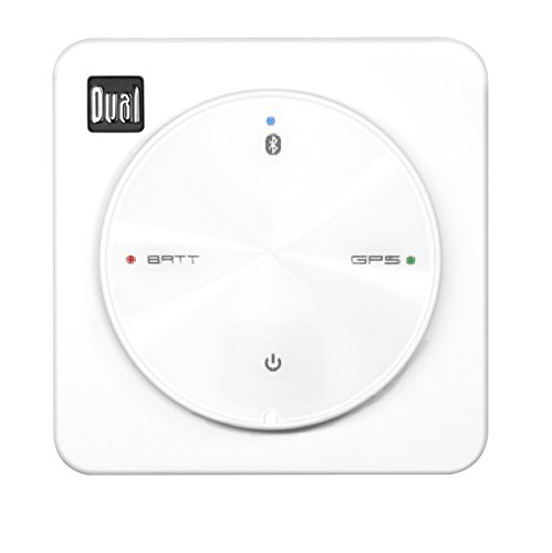 dual electronics xgps10m multipurpose universal marine bluetooth gps receiver with wide area