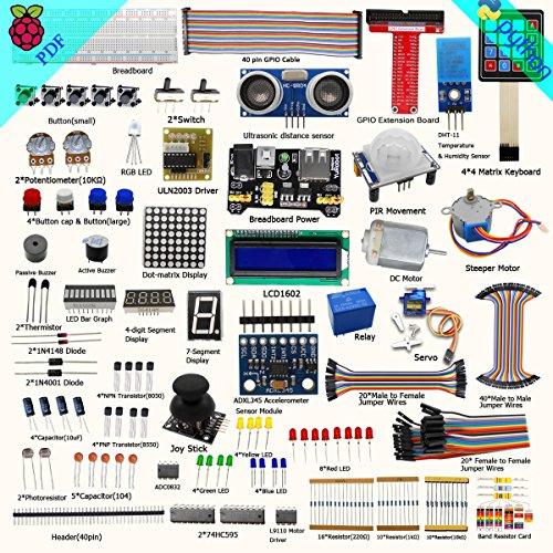 Raspberry Pi 3 Ultimate Starter Kit – Complete Set Includes