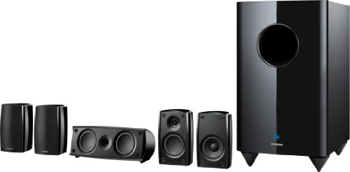 Magnetically Shielded High Gloss Full Range Acoustic Suspension Surround Speakers Onkyo Sks Ht690 5 1 Channel Home Theater Speaker System Black
