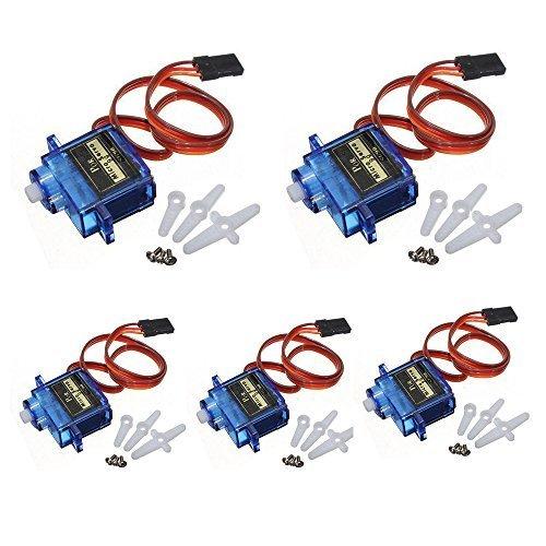 Keywish 5PCS HC-SR04 Ultrasonic Module Kit Distance Sensor for