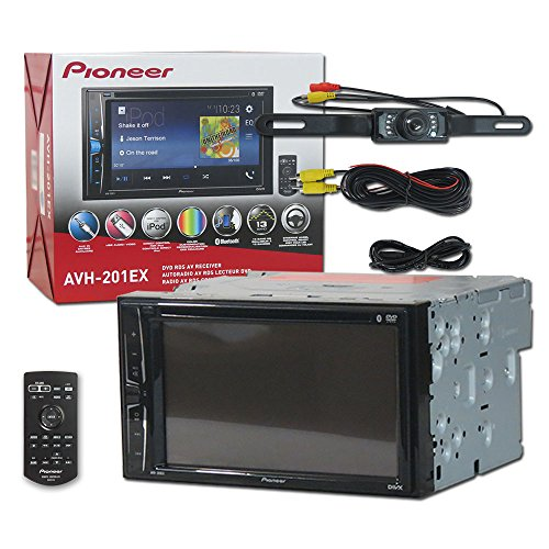 pioneer car audio double din 2din 6 2 touchscreen dvd mp3 cd stereo built in bluetooth remote. Black Bedroom Furniture Sets. Home Design Ideas