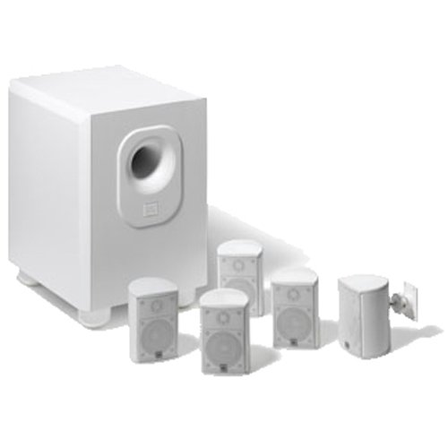 Leviton AEH50-WH Architectural Edition Powered By JBL 5 ... on