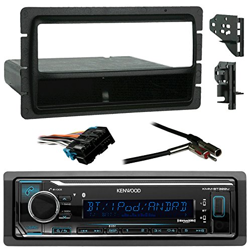 Metra 70 2104 Radio Wiring Harness For 06 Up Gm : Kenwood car usb aux bluetooth media receiver bundle combo