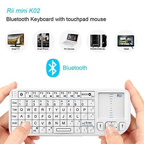 Rii K02 4 In 1 Mini Wireless Bluetooth Multi Media