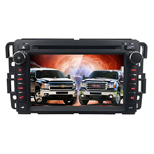 Hizpo Car Stereo DVD Player For GMC Chevy Silverado 1500