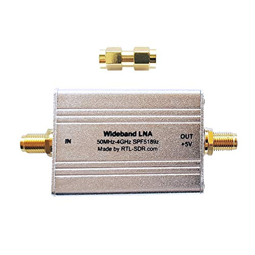 RTL-SDR Blog Wideband Low Noise Amplifier Bias Tee Powered