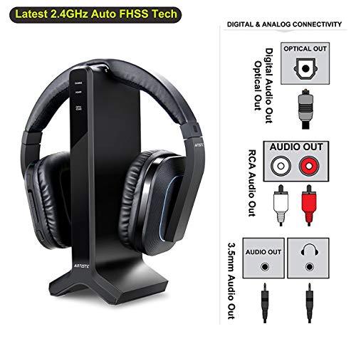 Wireless Stereo Tv Headphones Artiste D1 2 4ghz Optical