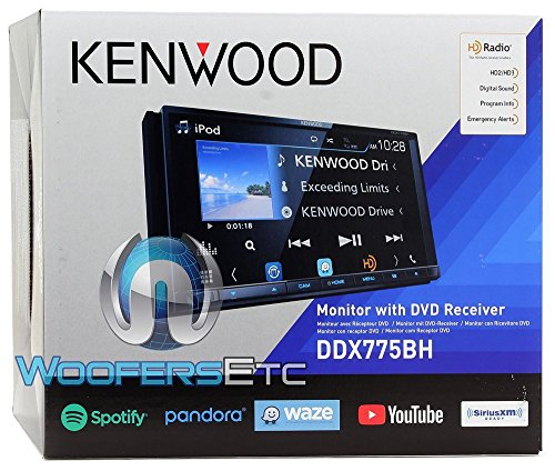Kenwood DDX775BH In-Dash 2-DIN 6 95″ Touchscreen DVD