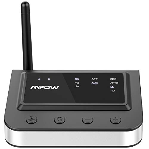 Mpow Bluetooth 5 0 Transmitter Receiver 164ft Long Range 3 in 1